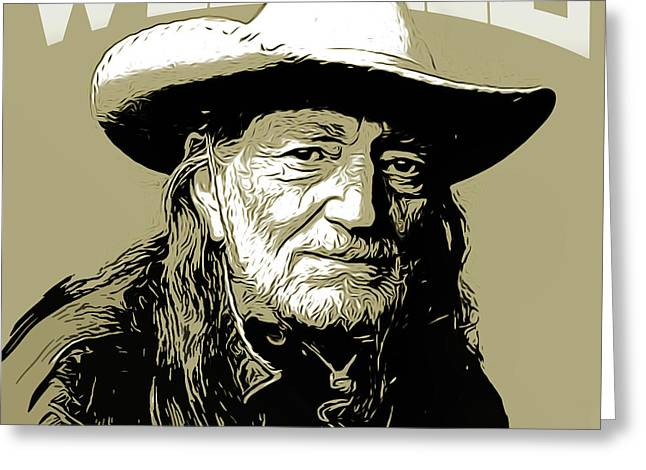Willie Greeting Card