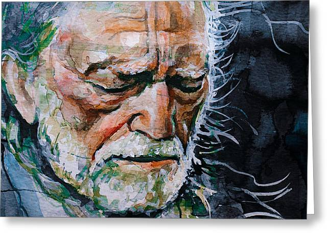 Willie Nelson 7 Greeting Card