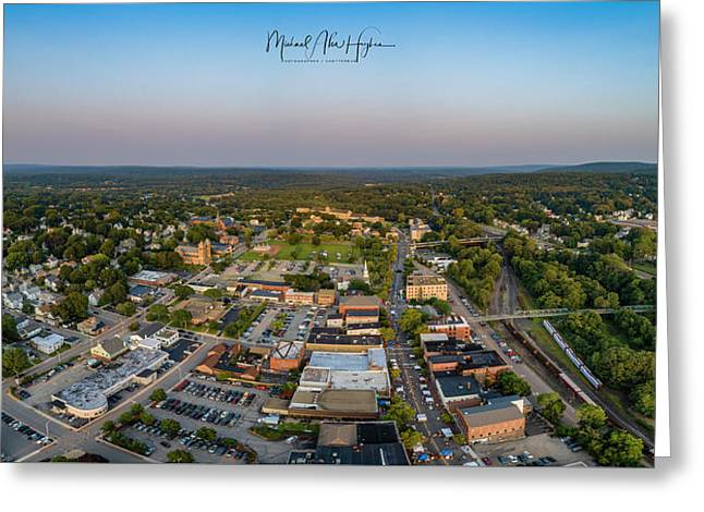 Willimantic Panorama Greeting Card