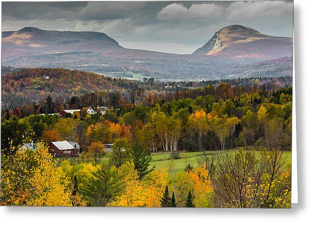 Willoughby Gap Late Fall Greeting Card
