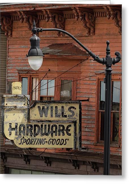 Wills Hardware Greeting Card