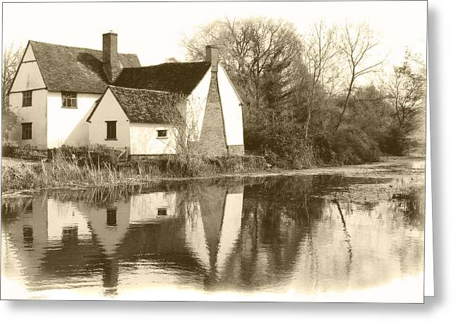 Willy Lots Cottage Greeting Card by Terence Davis
