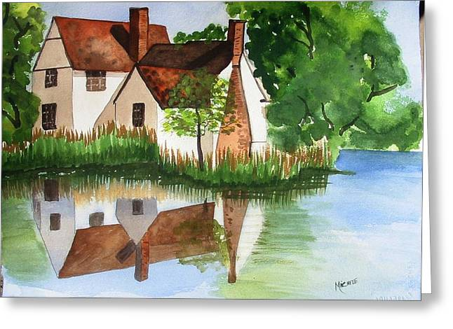 Willy Lotts Cottage Greeting Card