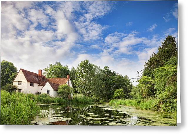 Willy Lott's House Flatford Mill Greeting Card by Colin and Linda McKie