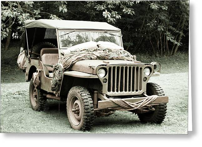 Willy's Jeep 06 Greeting Card