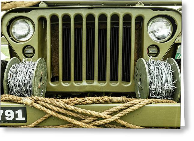 Willy's Jeep 08 Greeting Card
