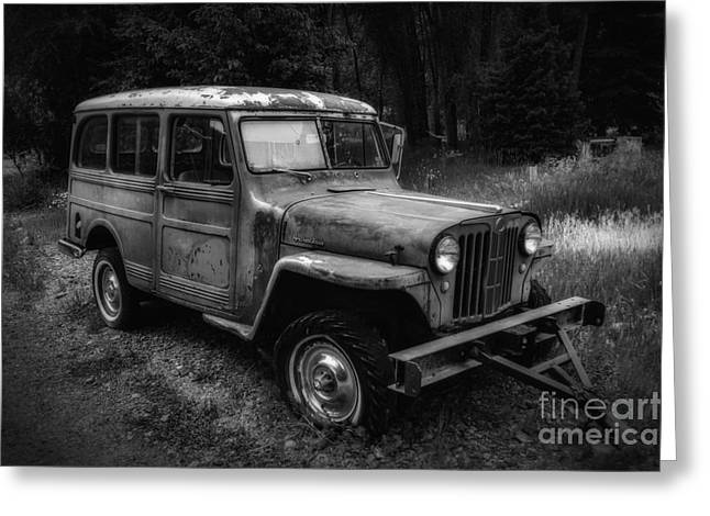 Willys Jeep Station Wagon Greeting Card