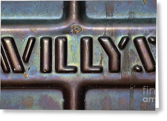 Willys Greeting Card