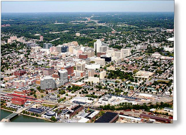 Wilmington Delaware Greeting Card by Duncan Pearson