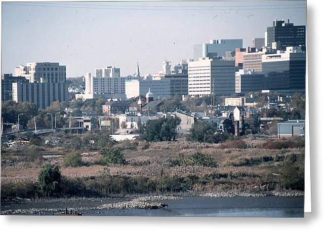Wilmington's Eastside Skyline Greeting Card