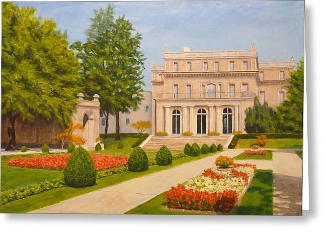 Wilson Hall Monmouth University Greeting Card