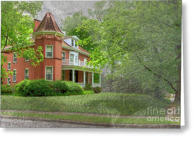 Wilson J. Maple And Grace Senne House Greeting Card