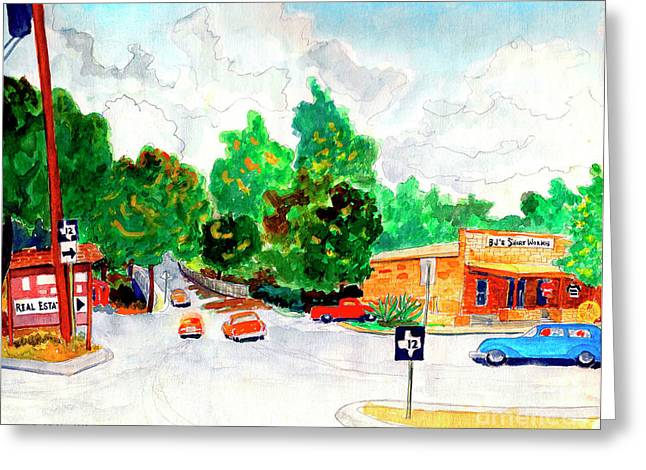Wimberley Texas  Greeting Card by Fred Jinkins