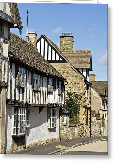 Winchcombe Houses Greeting Card