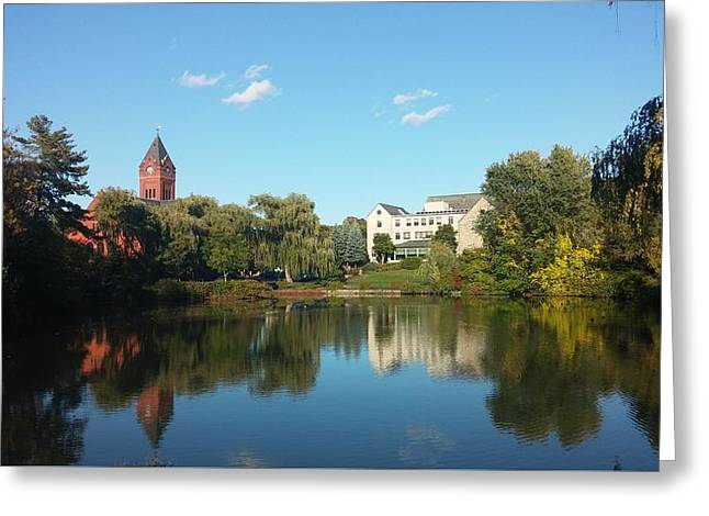 Winchester,ma Scenery Greeting Card