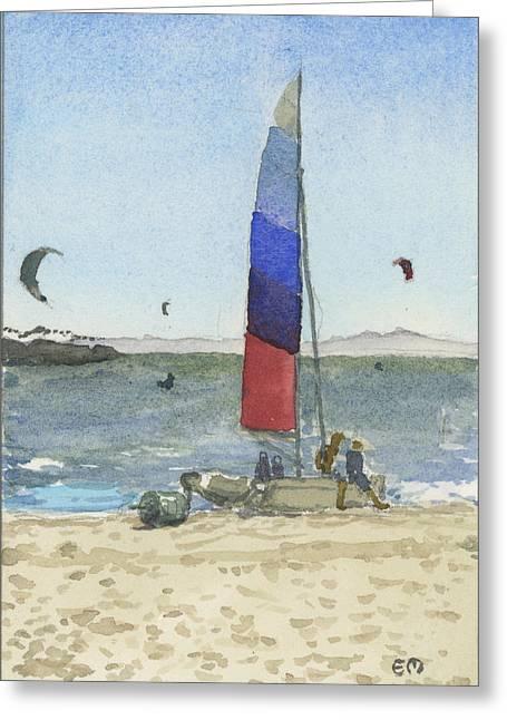 Wind Catchers Greeting Card