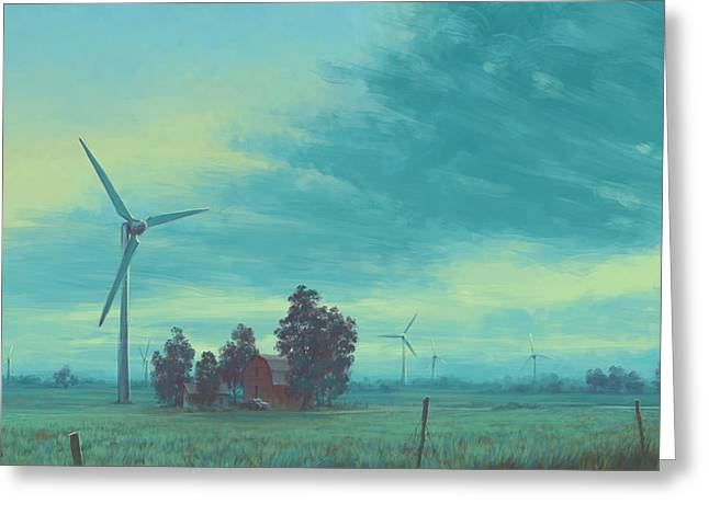 Wind Harvest Greeting Card