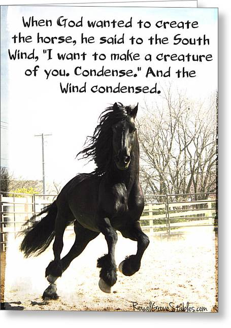 Wind In Your Mist Greeting Card