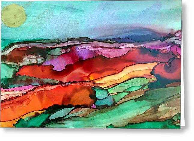 Wind Of Change Greeting Card