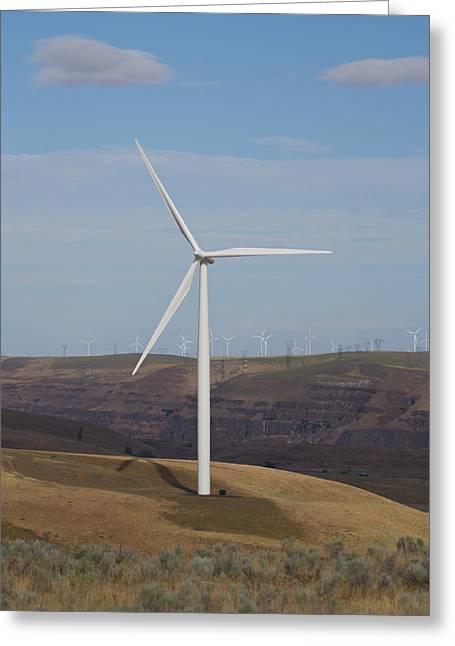 Wind Power 13 Greeting Card