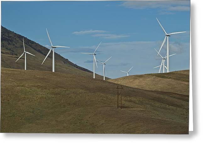 Wind Power 9 Greeting Card