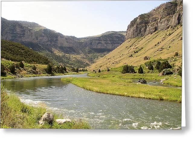 Wind River Canyon 1 Greeting Card