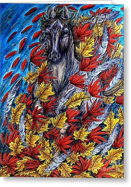 Wind Spirit Greeting Card