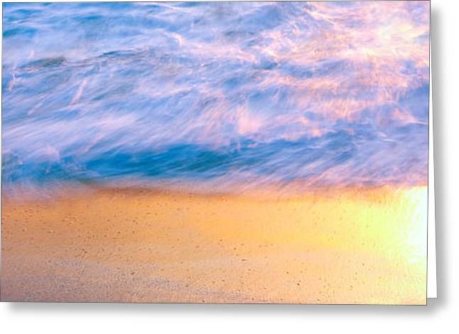 Windansea Beach At Sunset, La Jolla Greeting Card