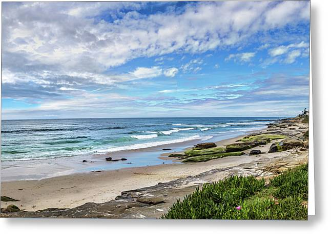 Windansea Wonderful Greeting Card by Peter Tellone