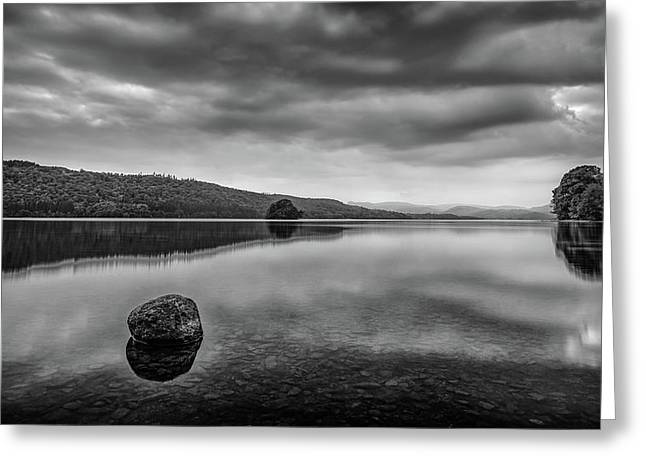 Greeting Card featuring the photograph Windermere by James Billings