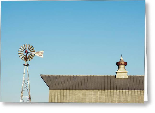 Windmill Heritage Greeting Card