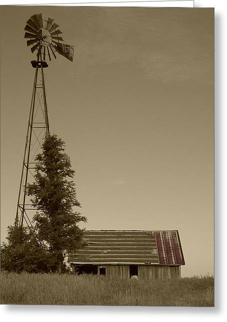 Windmill II Greeting Card