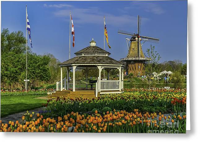 Windmill Island Gardens  Greeting Card