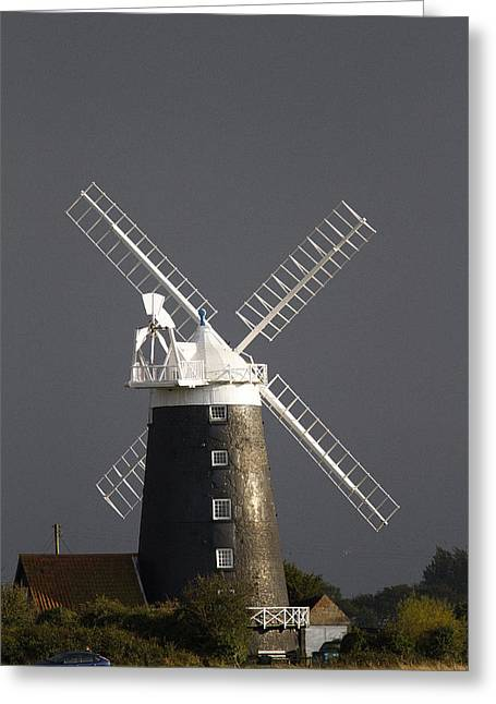 Windmill Norfolk Greeting Card