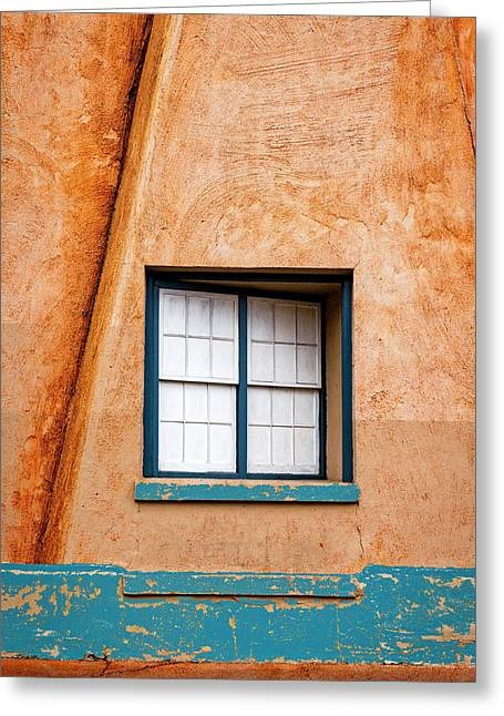 Window And Adobe Walls Greeting Card