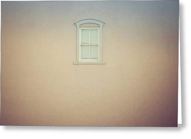 Window And Wall Greeting Card
