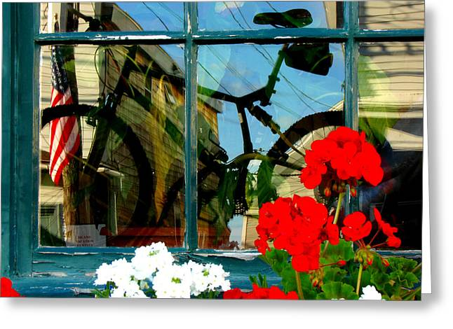 Window Art Greeting Card