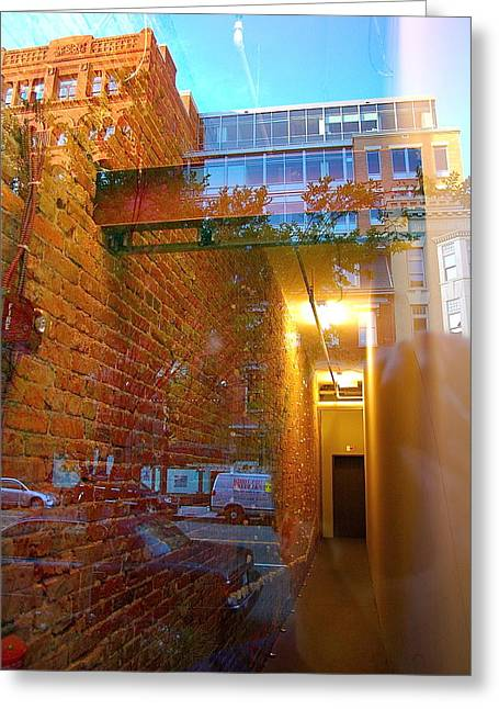 Window Art Lll Greeting Card by Mark Lemon
