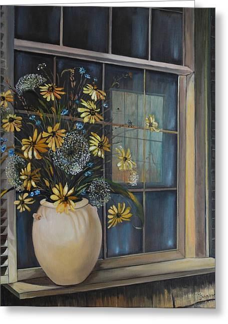 Window Dressing - Lmj Greeting Card