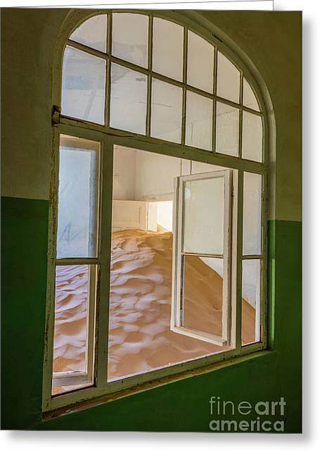 Window Greeting Card by Inge Johnsson