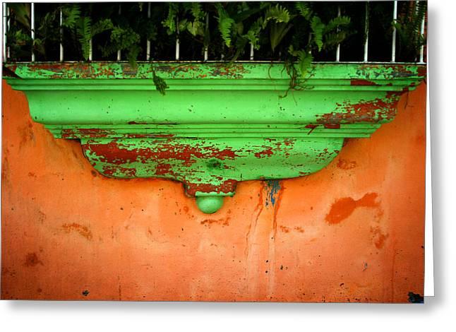 Ledge Photographs Greeting Cards - Window ledge Greeting Card by Shane Rees