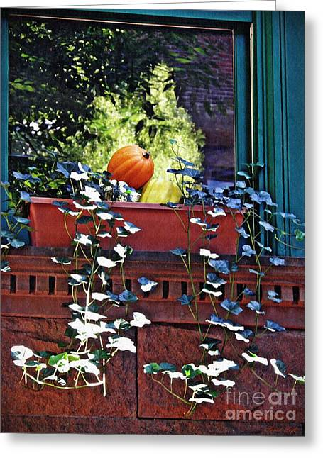 Window Ledge Still Life  Greeting Card
