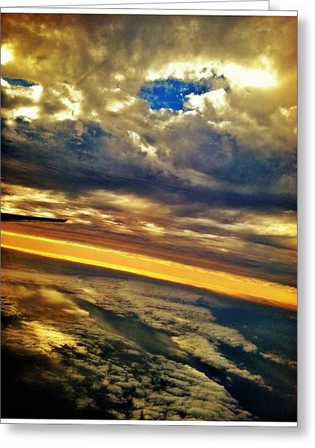 Window Seat 5 Greeting Card by Braden Moran