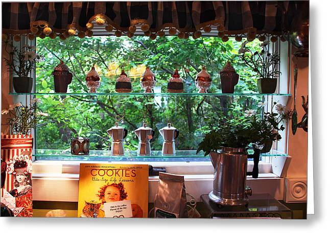 Greeting Card featuring the photograph Window Shopping by Joanne Coyle