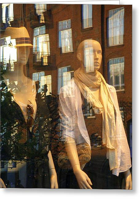Greeting Card featuring the photograph Window Shopping by Michael Canning