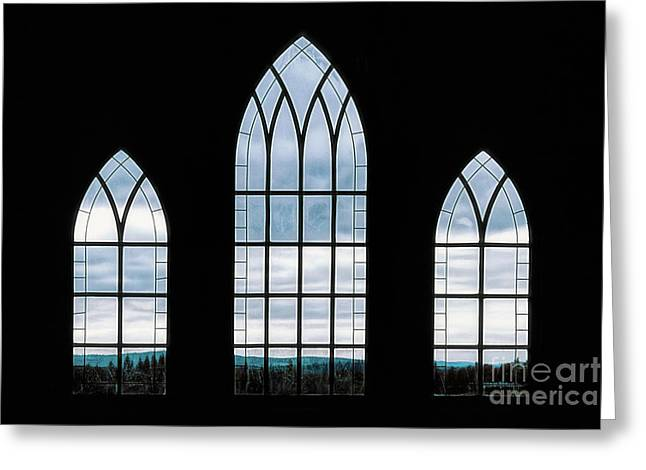 Greeting Card featuring the photograph Window To God's Country by Brad Allen Fine Art