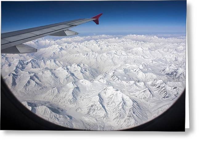 Window To Himalaya Greeting Card
