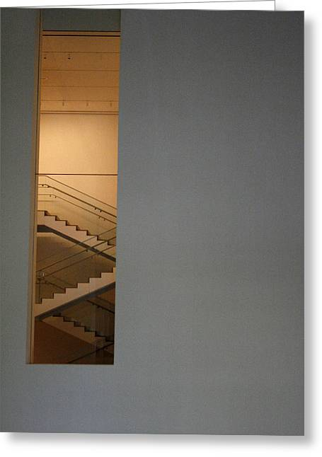 Window To Stairs Greeting Card by Jeff Porter