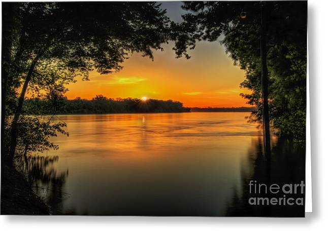 Window To The River Greeting Card