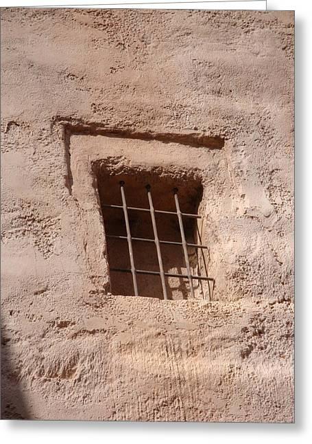 Window Warmth Greeting Card by Kim Chernecky